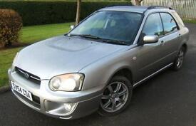 Subaru Impreza 2.0 Petrol 4x4 2004 54 reg with 105k miles