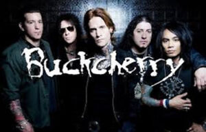 Buckcherry in ROW 2