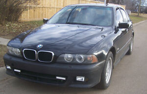 2002 BMW 5-Series BLACK Sedan