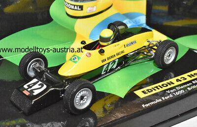 Van Diemen RF81 Formel Ford 1600 1981 British Champion Ayrton SENNA 1:43 MC