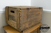 Caisse Bière Ancienne Boswell Antique Beer Crate