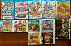 Nintendo 3DS and Wii U games (cheap!)