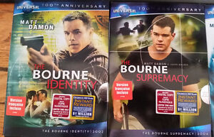 4 DVD Collection - The Bourne Identity The Bourne Supremacy