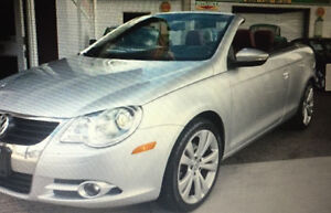 2009 Volkswagen Eos 2.0 TSI, Silver-Red Edition Convertible