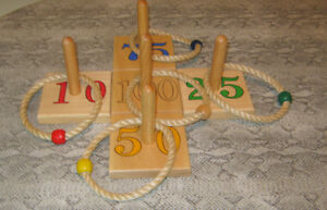 Wooden Ring Toss