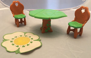 Vintage Strawberry Shortcake Berry Happy Home Dollhouse Table