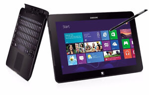 "Samsung ATIV Smart PC Pro 700T 11.6"" tablet Win 10 4GB 128GB SSD"