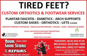 CUSTOM ORTHOTICS & FOOTWEAR SERVICE Peterborough Peterborough Area image 1