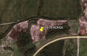 25.75 ACRES OUT OF SUBDIVISION MINUTES TO LAKE ISLE! $165,000