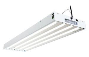 4 Tube T8 Lay In Fluorescent Light Fixtures 120v