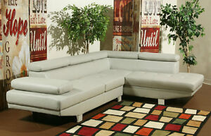 30% OFF - LEATHER SECTIONAL SOFA