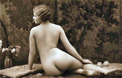 17,000 Vintage Victorian Risque, Burlesque Postcard Nude Photos On A DVD