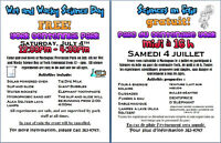 Wet and Wacky Science Day - Mactaquac Park - Sat.July 4- FREE