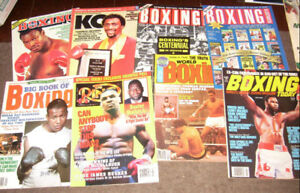 1980'S AND 90'S BOXING MAGAZINES  - OVER 100 $2 TO $3  EACH