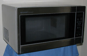 SHARPE STAINLESS STEEL MICROWAVE OVEN