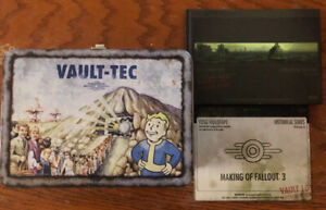 Fallout 3 Collectors Edition Lunch box $10