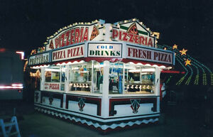 Concession Pizza Trailer &/or Stock Truck