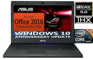 ASUS ROGamer Intel 8 Core  / NEW SSD _3ans Garantie | Off PRO+