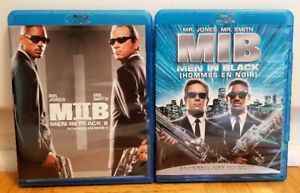 Men in Black I and II Blu-rays - $15/$7.50 Each/OBO