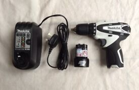 MAKITA CORDLESS DRILL 10.8 VOLT FOR SALE ,USED ONLY ONCE,PICK UP MY HOME ADDRESS