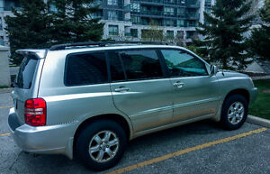 2002 Toyota Highlander SUV, Crossover