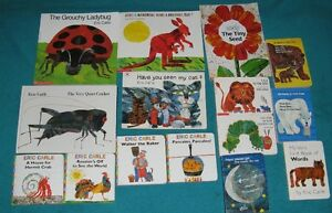 Eric Carle Book Collection