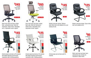 Limited Time Commercial Quality Office Chairs On Clearance!
