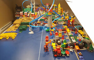 Fisher Price GeoTrax Huge Train Set Lot