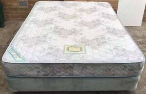Excellent queen bed base with queen mattress#9.Pick up or deliver Kingsbury Darebin Area Preview