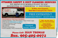 STEAMEX Carpet and Air Duct Cleaning Services