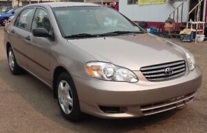 2003 Toyota Corolla - LOW in Gas - 1.8 liter