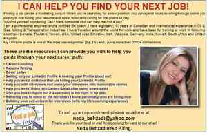 Resume Writing/Brain Storming/Career Coaching/Cover Letter