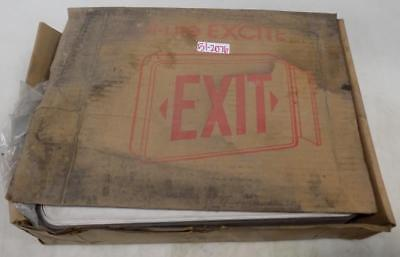 Dual-lite Excite Exit Sign