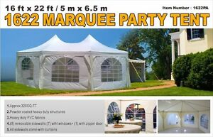 16x22 Party Tent