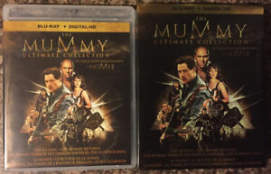 The Mummy Trilogy (5 discs, includes digital HD codes)