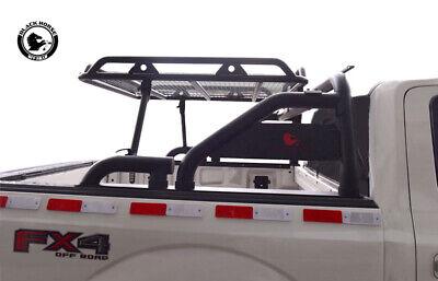 Black Horse Fits Toyota Tundra Roll Bar bed cargo rack sports head WRB-001BK