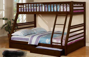 Single over Double Bunkbed