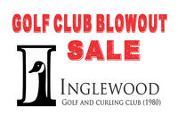 Golf Club Blowout Sale!