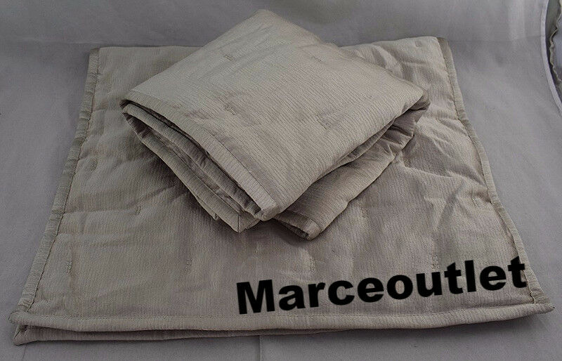 Hotel Collection Fresco EURO Quilted Pillowshams Soft Gold - $50.66