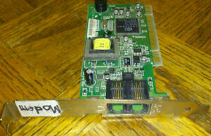 PCI Dialup/Fax Modem cards