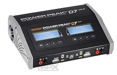 MPX Power Peak D7 EQ-Bdi Lipo Ladegerät Lader 12/230V 400Watt 308129