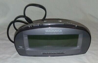Magnavox MCR140/17 Clock Radio Dual Alarm Large Display AM FM  Battery Backup
