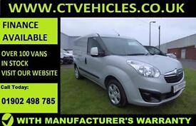 2016 66 plate Vauxhall Combo 1.3CDTi 16v 90PS L1H1 Sportive 2000 A/C B/TOOTH