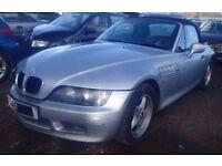 1998 BMW Z3 .9 PETROL ROADSTER BREAKING ENGINE GERABOX GLASS BONNET