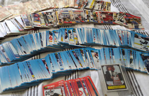 1,400+ Hockey Card Collection