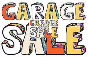 A HUGE HUGE GARAGE SALE MULTI HOUSEHOLD