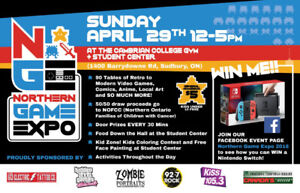 NORTHERN GAME EXPO APRIL 29th