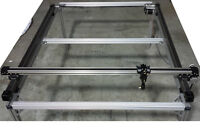 CNC 2 Axis XY Table Stage Cutter CNC Mechanical kit stepper moto