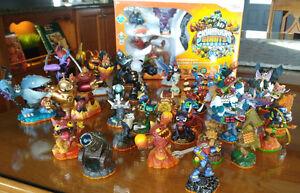 Jeu Skylanders pour Wii + 39 figurines