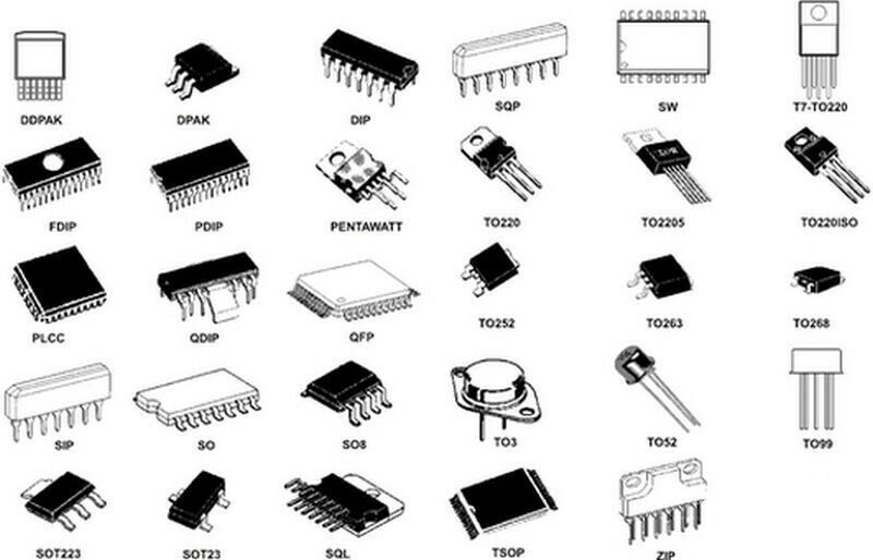 TIANMA MICROELECTRONICS TM0404AAA6 Integrated Circuit Original Parts Quantity-1